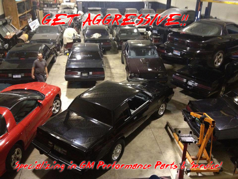 Auto Performance Shop >> Aggressive Performance Buick Grand National Parts Service